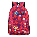 Anime ONE Piece Students Backpack School Bag