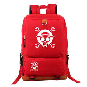 Japanese Anime Bag Japan One Piece Luffy Teenagers Backpack Rucksac