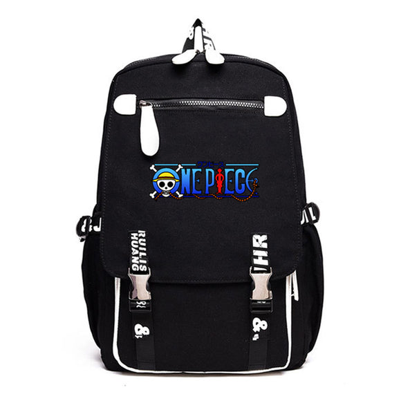 Anime One Piece Luffy Backpack Teenager School Backpack Bookbags Rucksuck