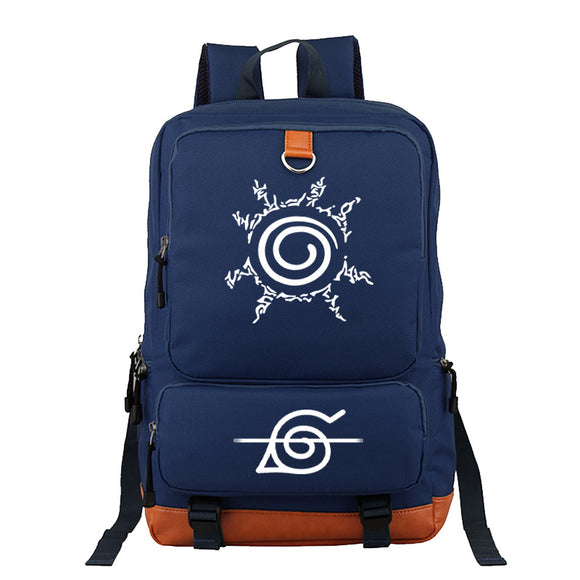 Anime Naruto Rucksuck Polyester Backpack  Bookbag For Boys and Girls