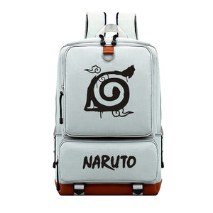 Anime Naruto Rucksuck Polyester Backpack  Bookbag For Youth