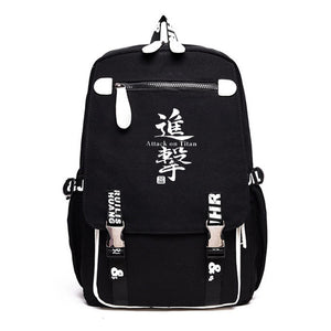 Attack on Titan Shingeki no Kyojin Youth Rucksack Backpack With USB Charging Port