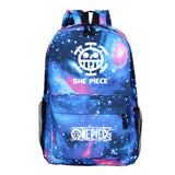 Anime ONE Piece Backpack Youth  Students Bookbag School Bags