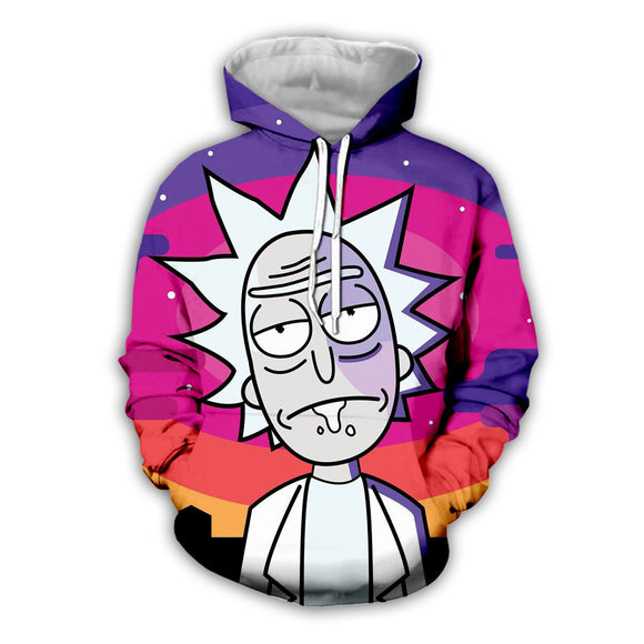Rick and Morty Hoodies Pull Over