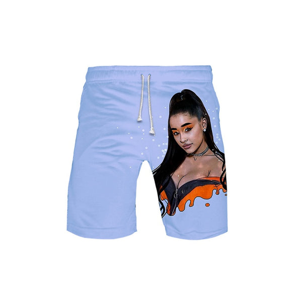Ariana Grande 3D Print Men Shorts Beach Swim Shorts