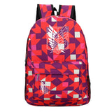 Attack on Titan Shingeki no Kyojin Youth Backpack Daybag for Student
