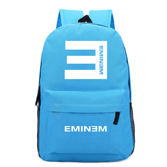 Eminem Youth Backpack High School Students Backpack