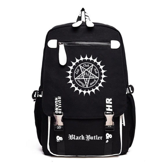 Anime Black Butler Kuroshitsuji Students Backpack Big Capacity Rucksuck