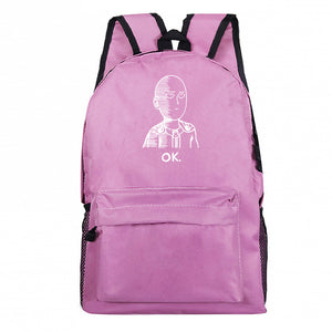 Anime ONE PUNCH-MAN Canvas Student Backpack
