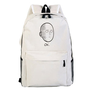 Anime Backpack One Punch Man  School Backpack Bookbag For Youth