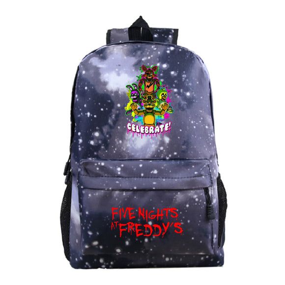 Five Nights at Freddy's School Backpack Book Bag