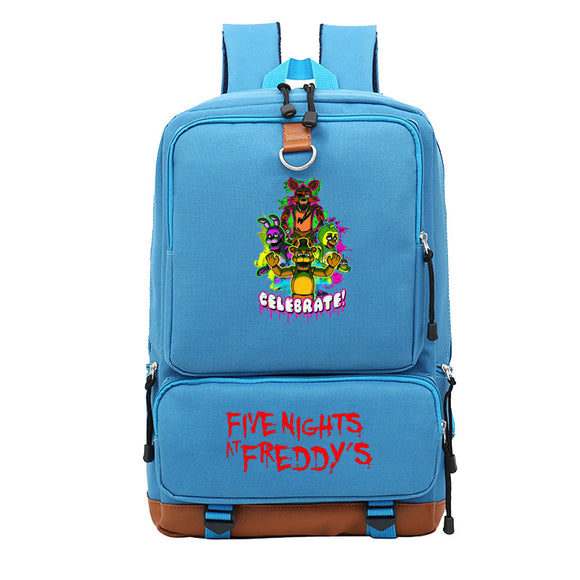 Five Nights at Freddy's School Backpack Book Bag for Students