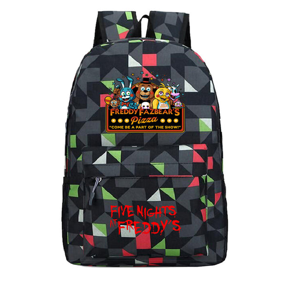 Five Nights at Freddy's School Backpack Book Bag For Youth