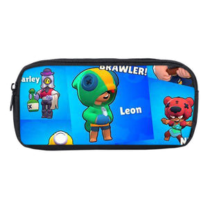 Brawl Stars  3D Print Kids Pencil Case Bag