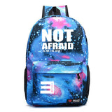 Eminem Youth Backpack High School Students Not Arfaid Print Backpack