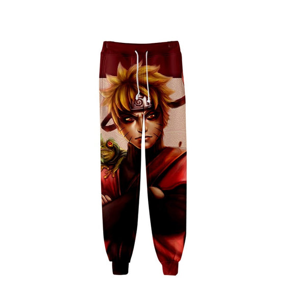 Anime Naruto Casual Pants 3D Print Unisex
