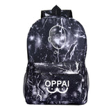 Anime ONE PUNCH-MAN Canvas Student Polyester Backpack