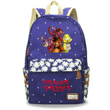 Five Nights at Freddy's School Backpack Book Bag Floral Backpack For Youth Kids