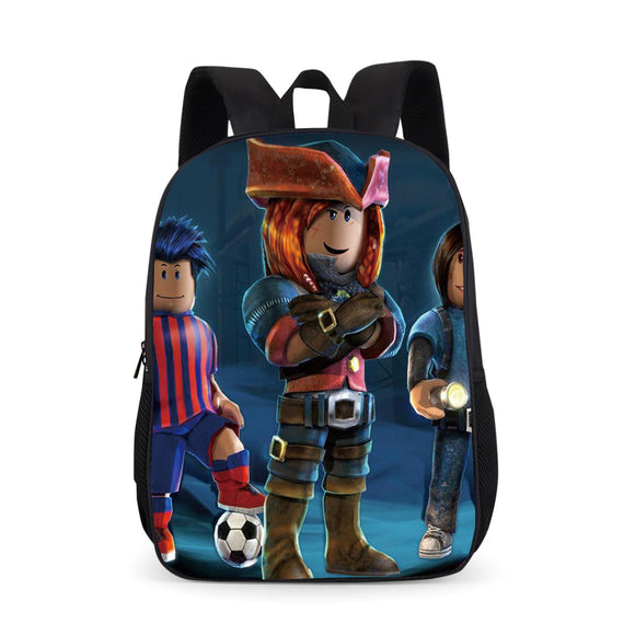 Roblox 3D Print School Backpack Bookbag Youth Daybag