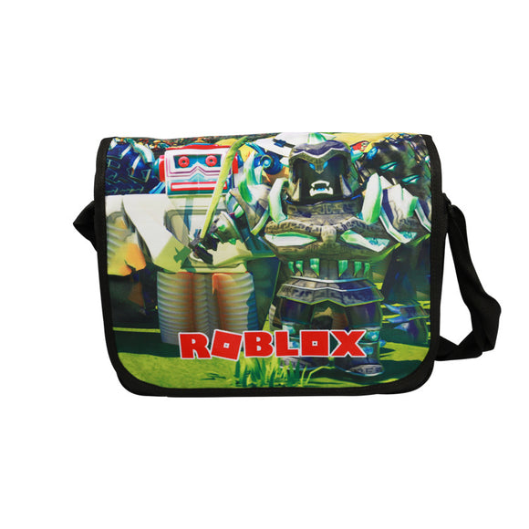 Roblox Cross Shoulder Bags Students 3D Print Bag