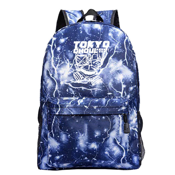 Anime Tokyo Ghoul Students Polyester Backpack BookBags for Boys and Girls