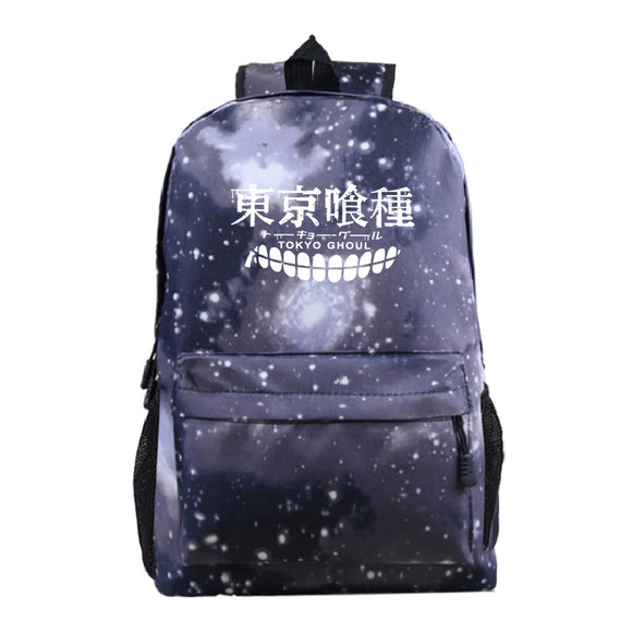 Anime Tokyo Ghoul Students Polyester Backpack BookBags For Youth