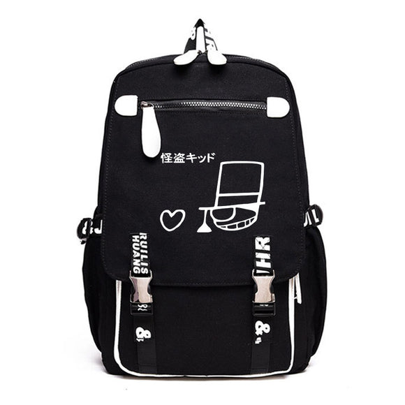 Japan Anime Detective Conan Backpack Rucksuck for Students