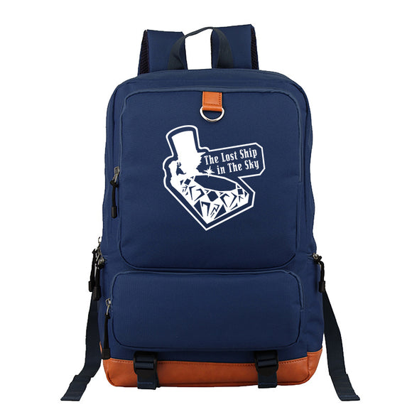 Japan Anime Detective Conan School Backpack  Book Bag  Big Capacity Rucksuck