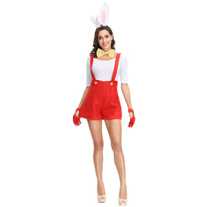 Halloween Bunny Costume Cosplay Anime Costume Set