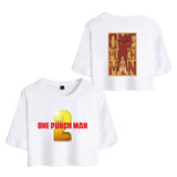One Punch Man Girls Crop Top Shirt