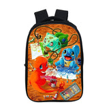 Anime Pokemon Go 3D Print  Kids Students Backpack School Bookbag