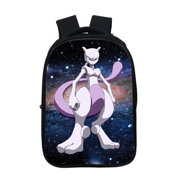 Anime Pokemon Go 3D Print  Kids Students Backpack School Bookbag Bookbags
