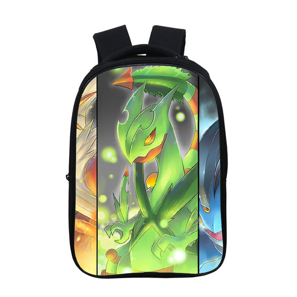 Anime Pokemon Go Cute  Kids Students Backpack School Bookbag For Youth