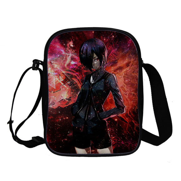 Anime Tokyo Ghoul Crossbody Bags Bookbag for Girls and Boys