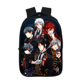 Anime Black Butler Kuroshitsuji 3D Print Backpack Shoulders Bag for Boys and Girls