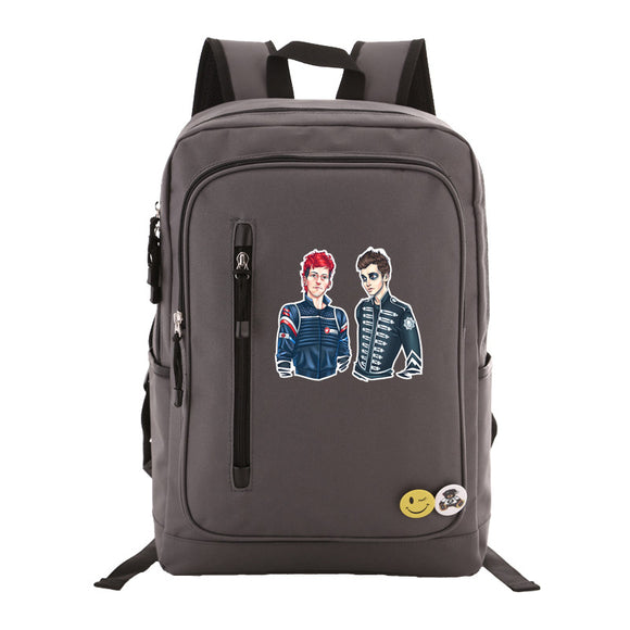 Twenty One 21 Pilots Students Backpack  Rucksuck Schoolbag Teens Boys Girls