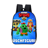 Brawl Stars  3D Print Kids Teens Students Backpack School Bag