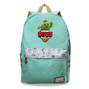 Brawl Stars Teens Kids Backpack School Bookbag For Youth