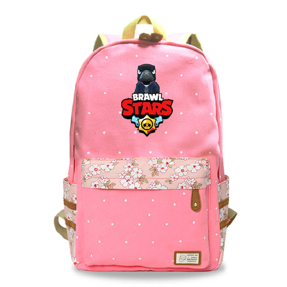 Brawl Stars Teens Kids Backpack School Bookbag