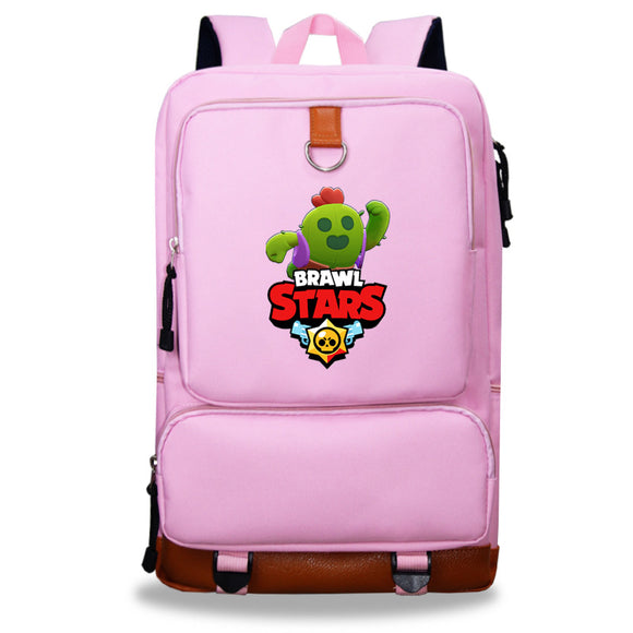Brawl Stars  Rucksuck Students Polyester Backpack Day Bag