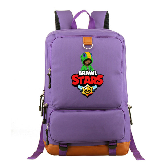 Brawl Stars  Rucksuck Students Polyester Backpack Day Bag For Youth