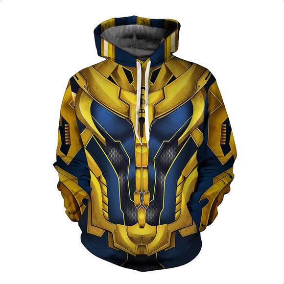 Marvel Thanos Zip Up Hoodies Jacket for Adults and Youth