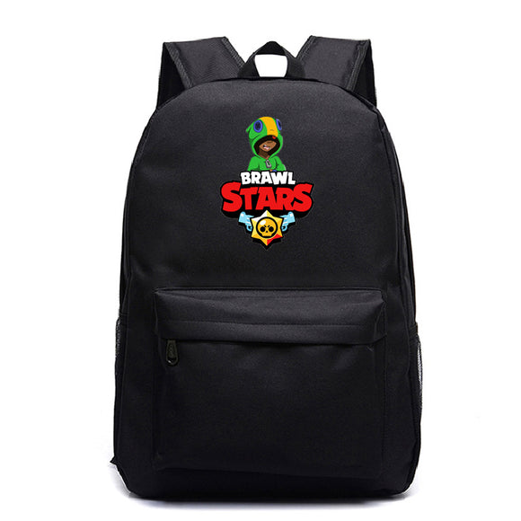 Brawl Stars Teens Kids School Backpack