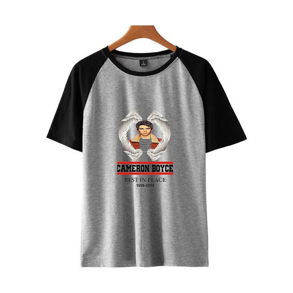 Cameron Boyce Raglan Short Sleeves Shirt
