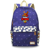 Brawl Stars Teens Kids Polyester Backpack School Bookbag
