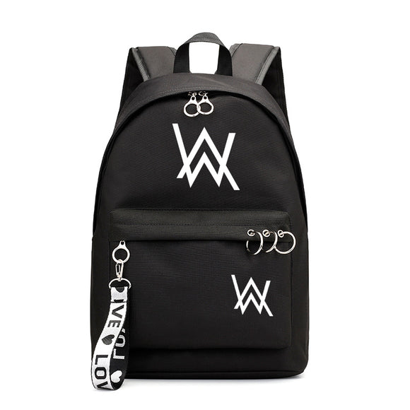 Alan Walker Teens Backpack For School