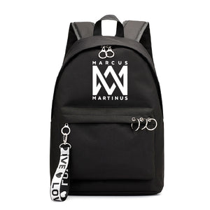 Marcus And Martinus Teens Backpack Students School Backpack Bookbag