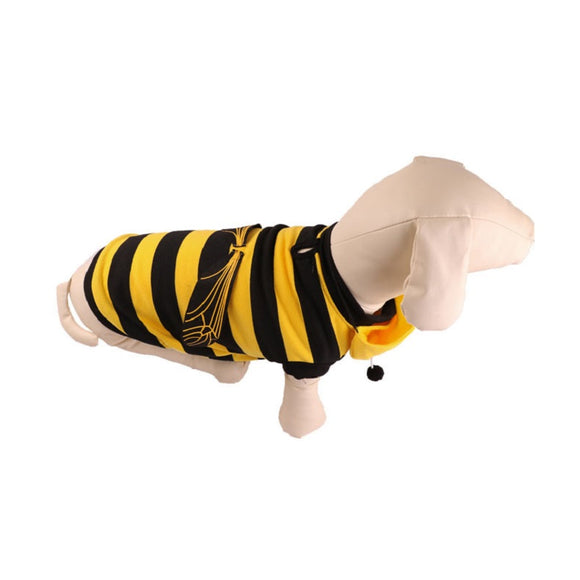 Halloween  Cat and Dog Costume Dog Cat Bee Costume Outfits