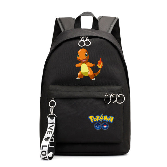 Anime Pokemon Go Students Backpack School Bookbag for Teens