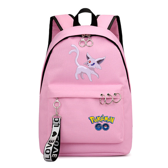 Anime Pokemon Go Students Backpack School Bookbag for Youth